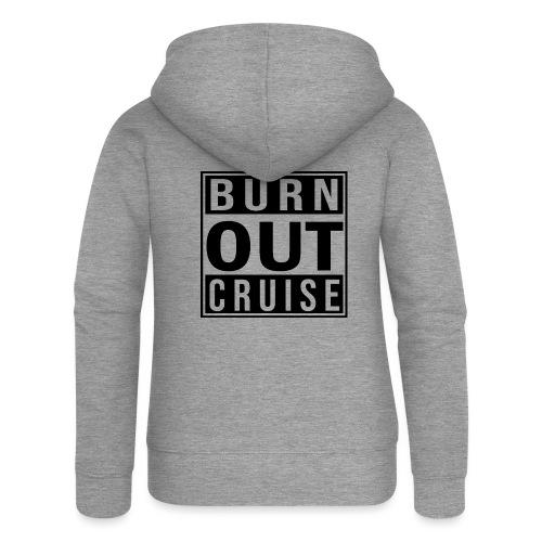 Kreuzfluenzer - Burnout Cruise - Frauen Premium Kapuzenjacke