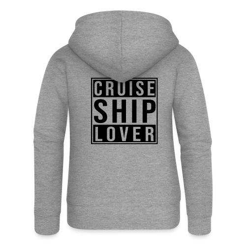 Kreuzfluenzer - Cruise Ship Lover - Frauen Premium Kapuzenjacke
