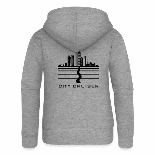 City Cruiser - Frauen Premium Kapuzenjacke