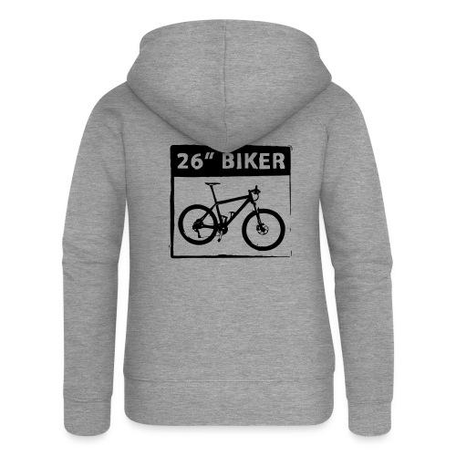 26 Biker - 1 Color - Frauen Premium Kapuzenjacke