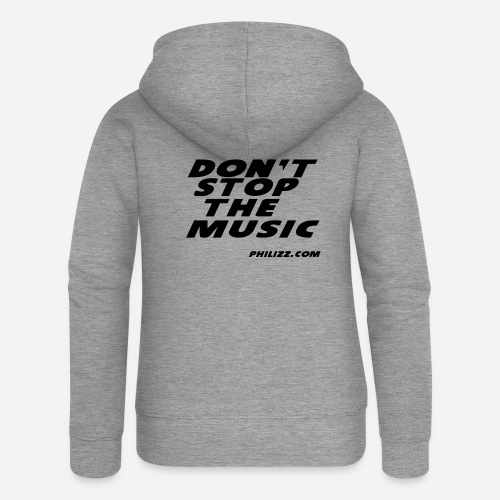 dontstopthemusic - Women's Premium Hooded Jacket