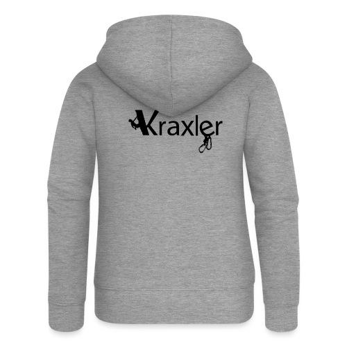 Kraxler - Frauen Premium Kapuzenjacke