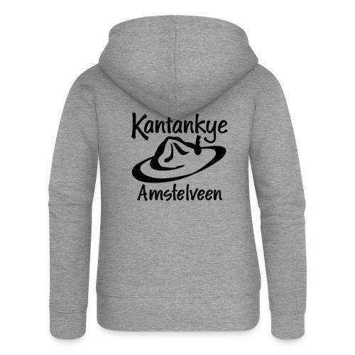 logo naam hoed amstelveen - Vrouwenjack met capuchon Premium