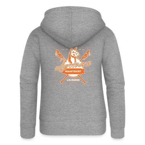 Llamas - Maastricht Lacrosse - Oranje - Vrouwenjack met capuchon Premium