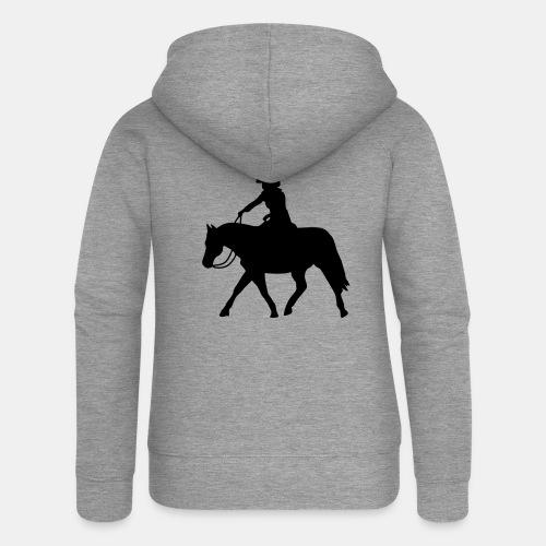 Ranch Riding extendet Trot - Frauen Premium Kapuzenjacke