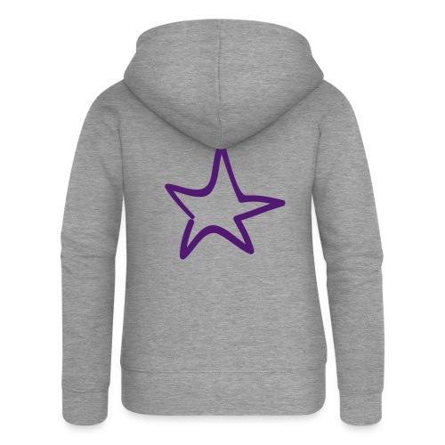 Star Outline Pixellamb - Frauen Premium Kapuzenjacke
