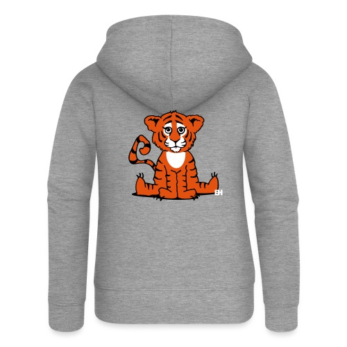 Tiger cub - Women's Premium Hooded Jacket