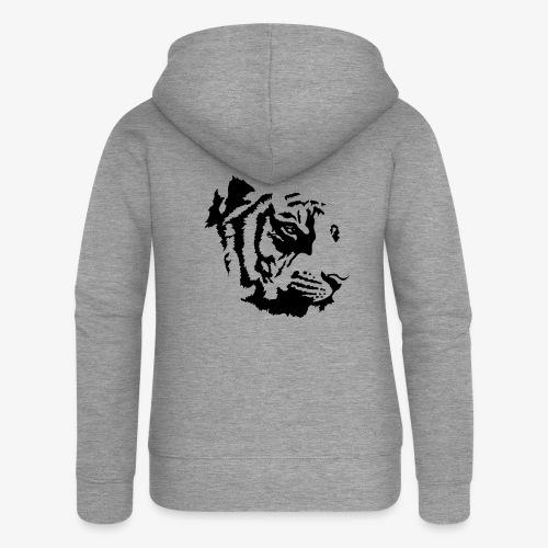 Tiger head - Veste à capuche Premium Femme