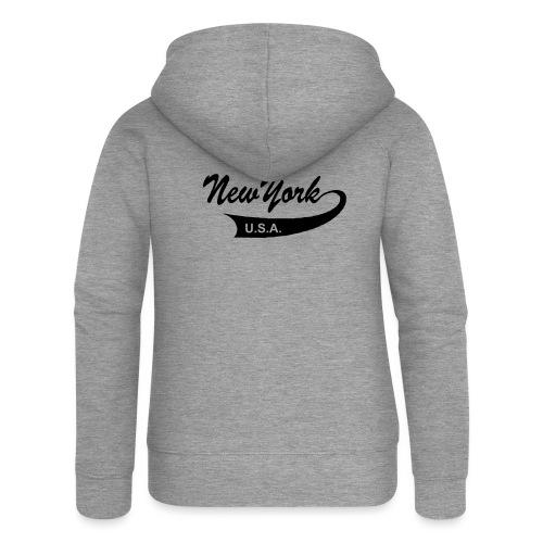 New York USA - Frauen Premium Kapuzenjacke