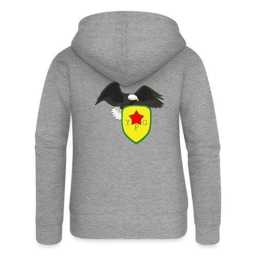 Mens Support YPG Hoodie - Naisten Girlie svetaritakki premium