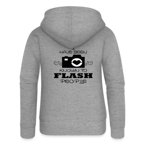 Photographer - Women's Premium Hooded Jacket