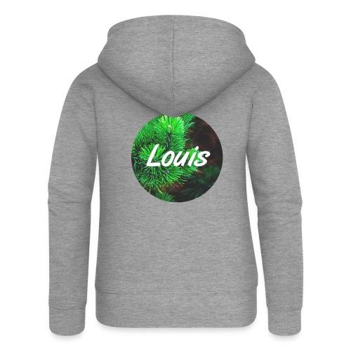 Louis round-logo - Frauen Premium Kapuzenjacke