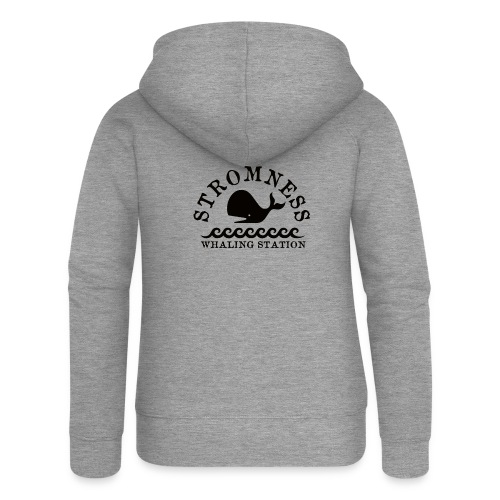 Sromness Whaling Station - Women's Premium Hooded Jacket