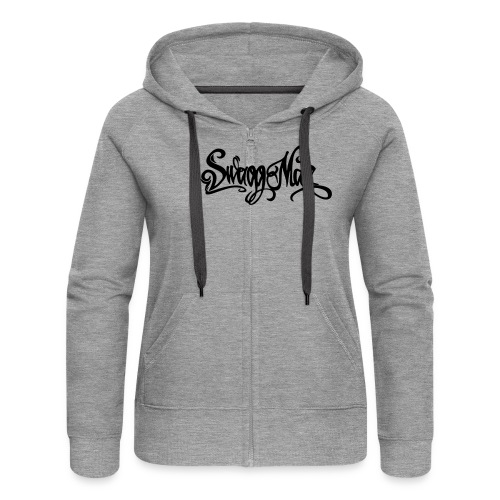 Swagg Man logo - Veste à capuche Premium Femme