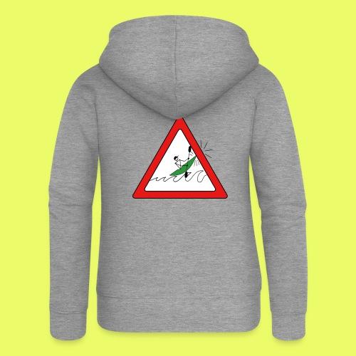 Kajak Unfall im Dreieck - Frauen Premium Kapuzenjacke