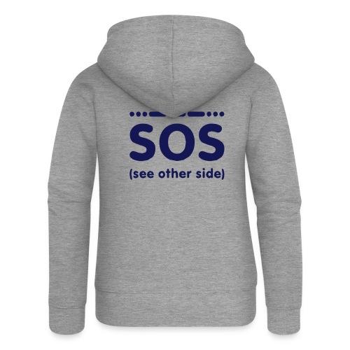 SOS - Vrouwenjack met capuchon Premium