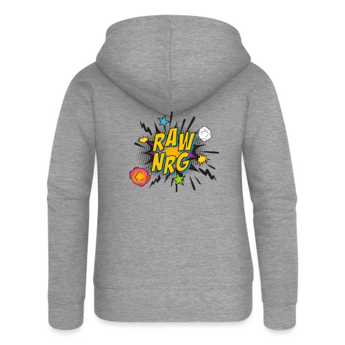 Raw Nrg comic 1 - Women's Premium Hooded Jacket