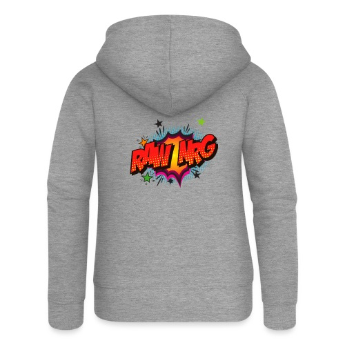 Raw Nrg comic3 - Women's Premium Hooded Jacket
