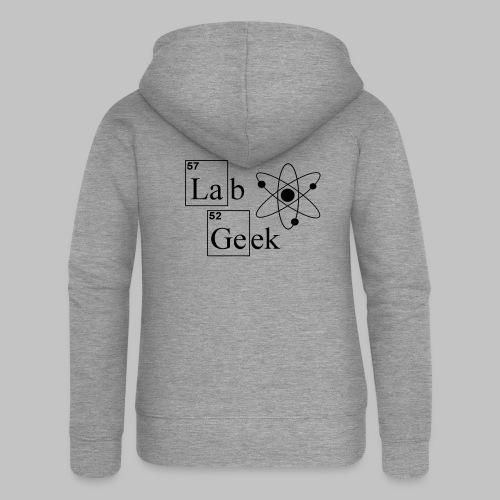 Lab Geek Atom - Women's Premium Hooded Jacket