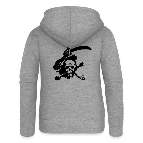 Skull Attack - Women's Premium Hooded Jacket