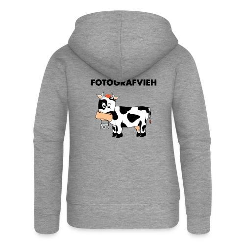 Fotografvieh - Frauen Premium Kapuzenjacke
