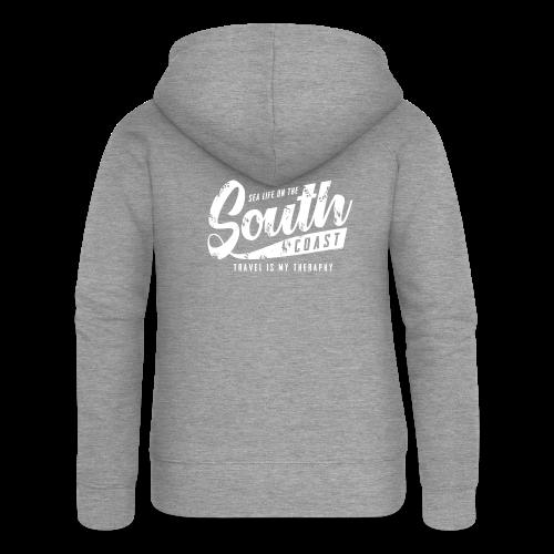 South Coast Sea surf clothes and gifts GP1305A - Naisten Girlie svetaritakki premium