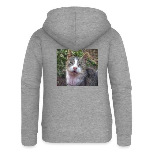 Katze Max - Frauen Premium Kapuzenjacke