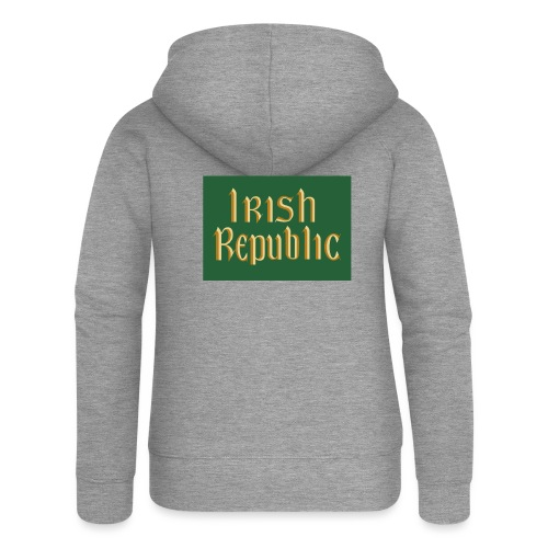 Original Irish Republic Flag - Women's Premium Hooded Jacket