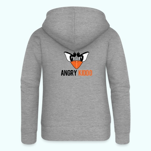 Angrykiddo - Veste à capuche Premium Femme