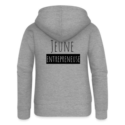 Jeune Entrepreneuse - Veste à capuche Premium Femme