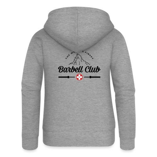 The world's finest Barbell Club _black - Frauen Premium Kapuzenjacke