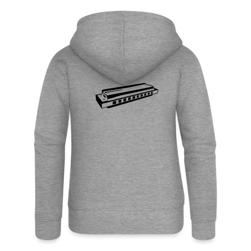 Harmonica - Women's Premium Hooded Jacket