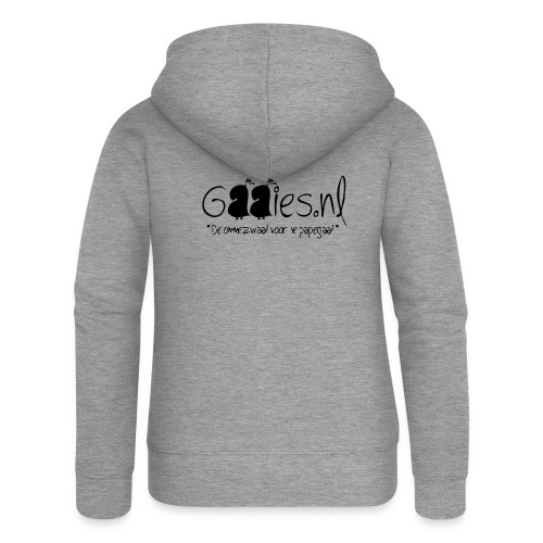 gaaies - Vrouwenjack met capuchon Premium