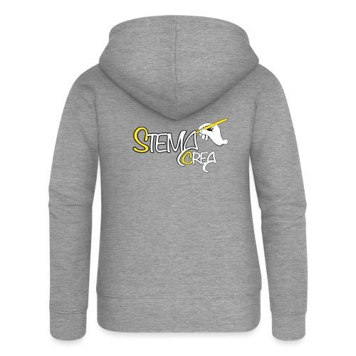 Stema CREA Logo - Veste à capuche Premium Femme