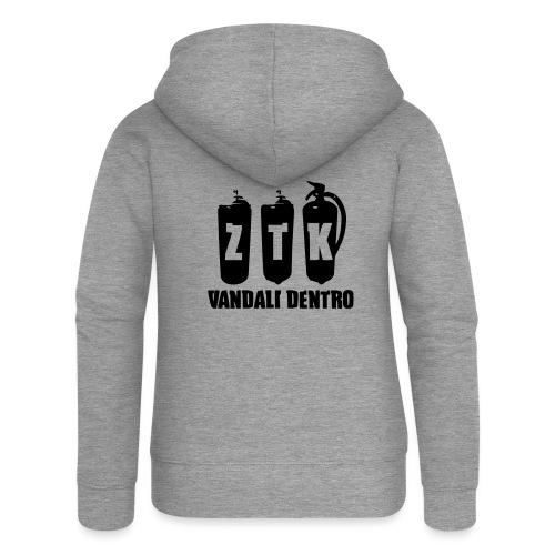 ZTK Vandali Dentro Morphing 1 - Women's Premium Hooded Jacket