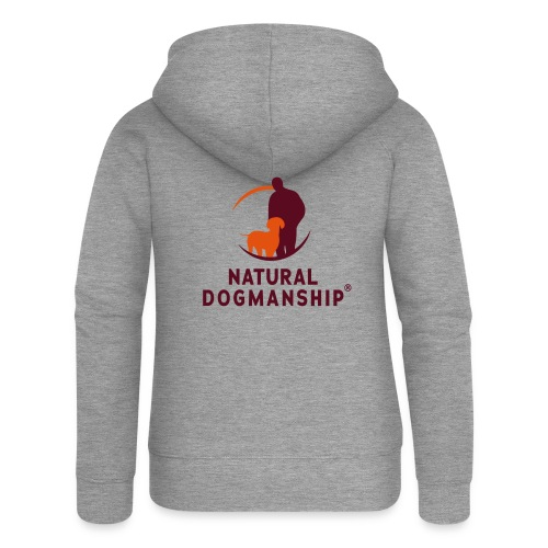 Jacke mit Natural Dogmanship Logo - Frauen Premium Kapuzenjacke