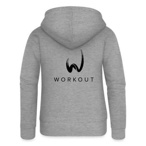 Workout - Frauen Premium Kapuzenjacke