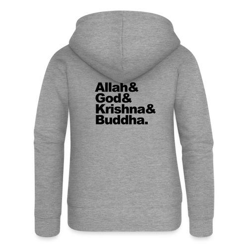 godsdiensten - Vrouwenjack met capuchon Premium
