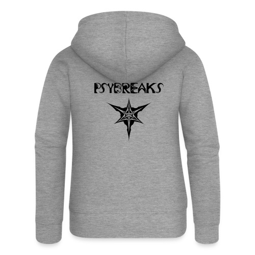Psybreaks visuel 1 - text - black color - Veste à capuche Premium Femme