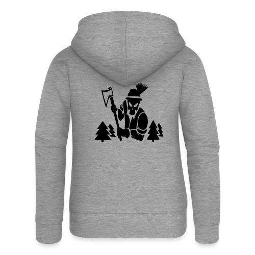Holzfäller - Frauen Premium Kapuzenjacke
