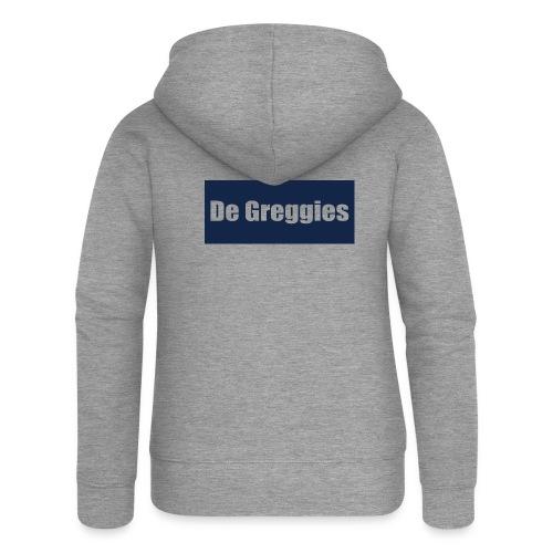 De Greggies T-Shirt - Vrouwenjack met capuchon Premium
