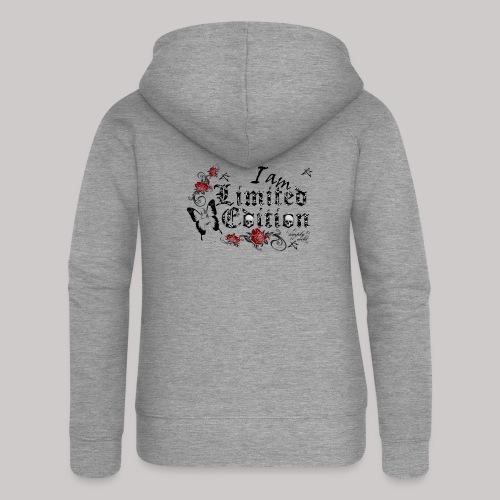 simply wild limited Edition on white - Frauen Premium Kapuzenjacke