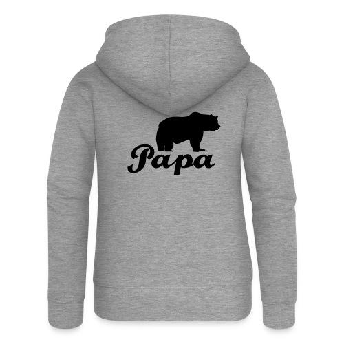 papa beer - Vrouwenjack met capuchon Premium