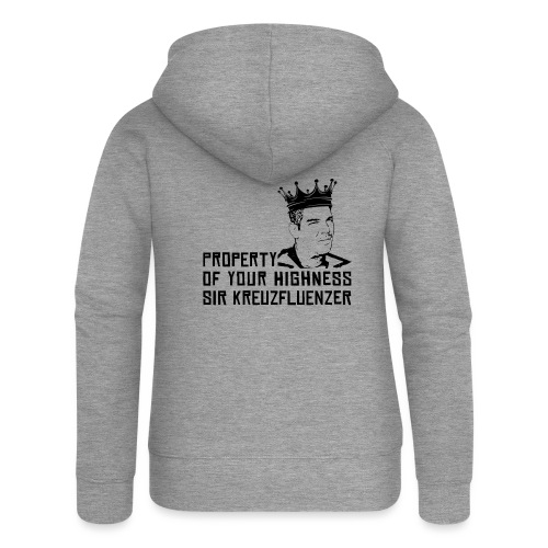 Property of your Highness Black - Frauen Premium Kapuzenjacke