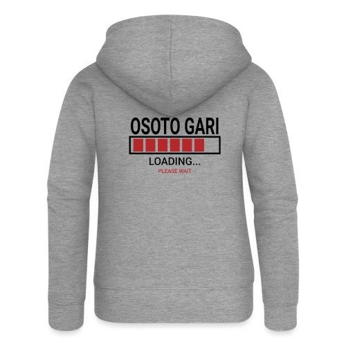 O Soto Gari Loading.... Pleas Wait - Rozpinana bluza damska z kapturem Premium