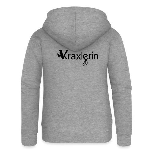 Kraxlerin - Frauen Premium Kapuzenjacke