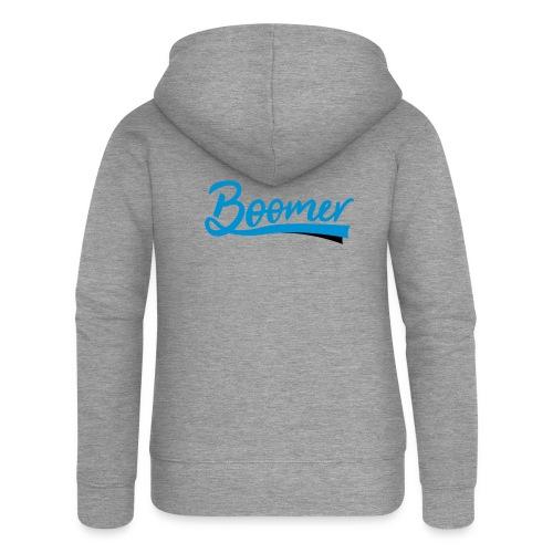 Boomer - 2 color text - diy - Naisten Girlie svetaritakki premium