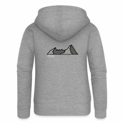 Mountains - Frauen Premium Kapuzenjacke