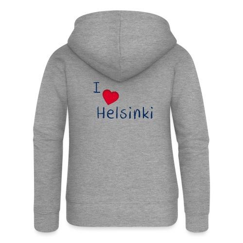 I Love Helsinki - Naisten Girlie svetaritakki premium