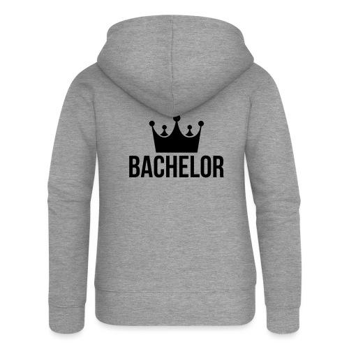 bachelor king - Vrouwenjack met capuchon Premium